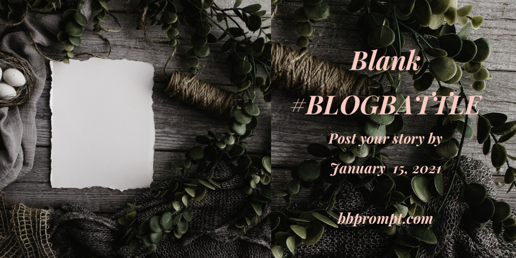 January BlogBattle writing prompt. All welcome to this small writing community